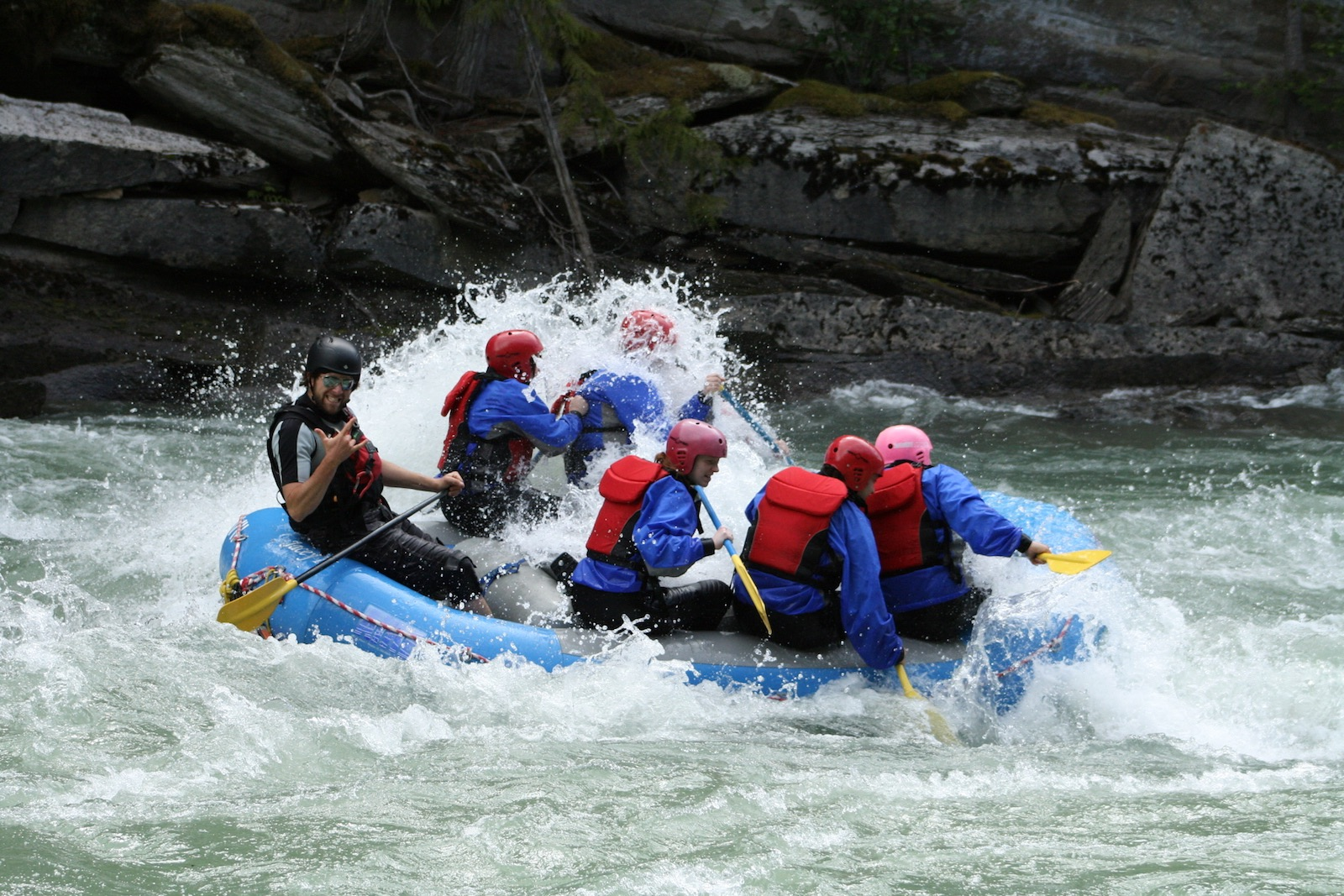 mount robson whitewater rafting fraser river
