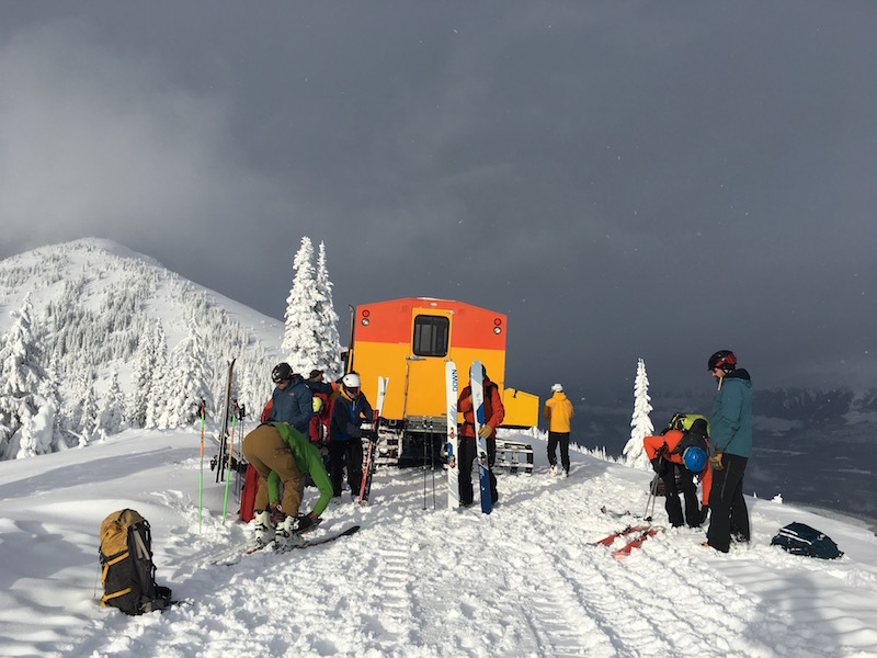 cariboo snowcat skiing and riding alicja gados photo