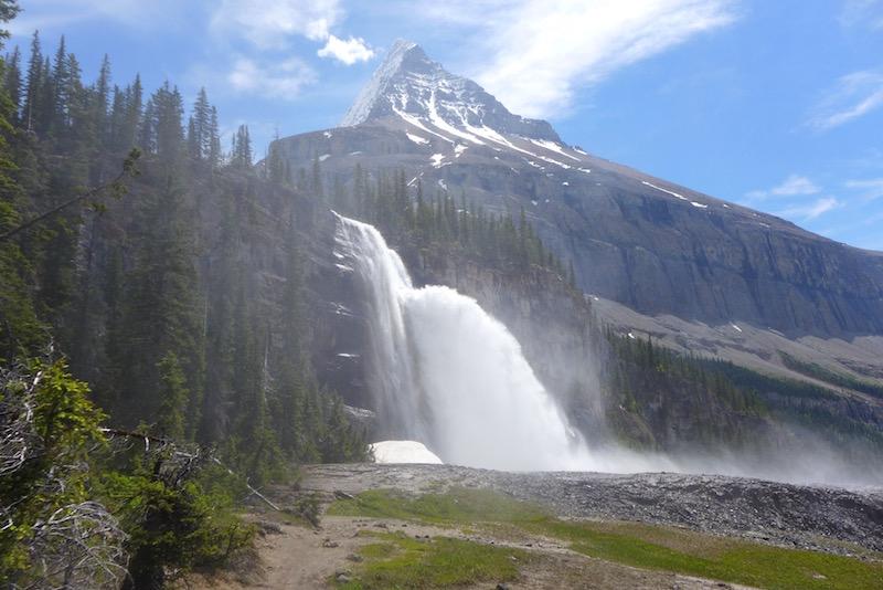 emperor falls mount robson provincial park alicja gados photo